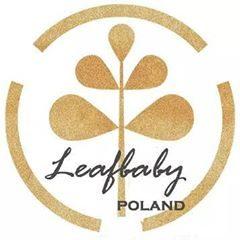 CZAPKA KRÓLIK CZARNY + USZY W PASKI od LeafBaby Poland